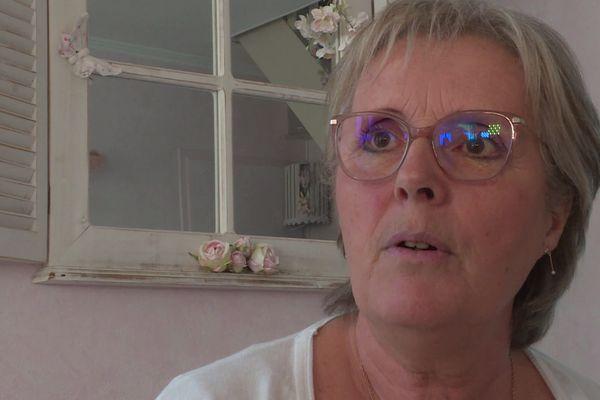 L'angevine Martine Olivier-Moulinot témoigne de ce qu'elle a connu lorsqu'elle patinait à un haut niveau.