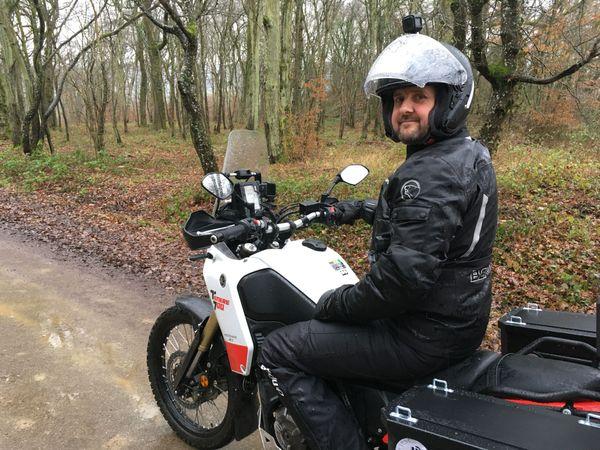 Sébastien Blandin travaille à la centrale de Cattenom. Il va prendre un long congé pour son périple vers la Sibérie, qu'il estime à 40.000 kilomètres, aller et retour !