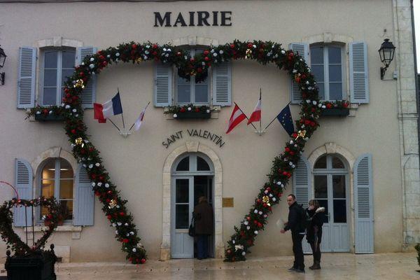 La mairie de Saint-Valentin