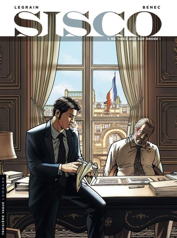 La couverture originale du premier tome de la série Sisco