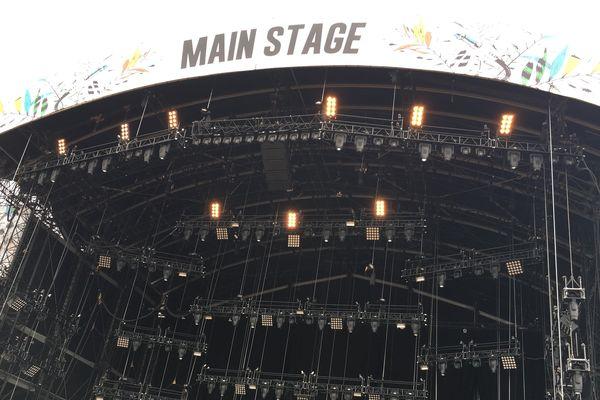 La Main Stage, scène principale du Main Square Festival d'Arras