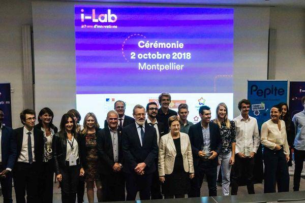 Les lauréats du prix Pépite 2018 à Montpellier