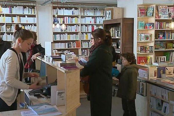 """Montpellier : """"La cavale"""", la librairie coopérative des Beaux-Arts - novembre 2018."""