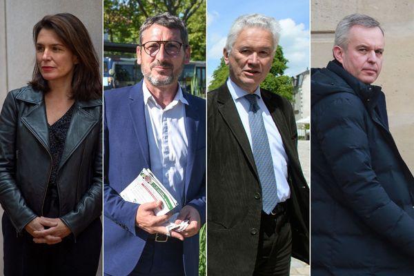 Christelle Morançais, Matthieu Orphelin, Hervé Juvin et François de Rugy, la quadrangulaire du second tour des Régionales 2021 en Pays de la Loire
