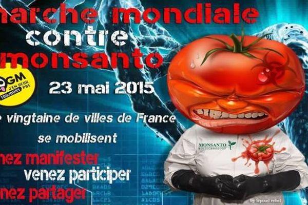 Les associations appellent à une marche contre Monsanto mais c'est tout le modèle agricole productiviste basé sur des intrants chimiques et des OGM qui est en ligne de mire de cette action à l'échelle planétaire.