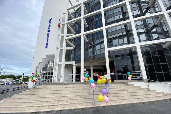 L'hôtel de Police de Reims, le 8 juillet 2020.
