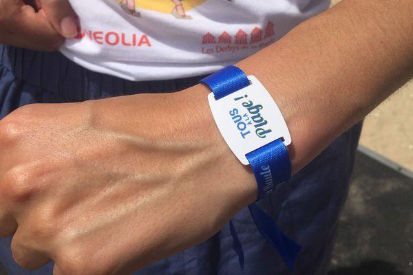 Un bracelet pour rester connecté tout l'été.
