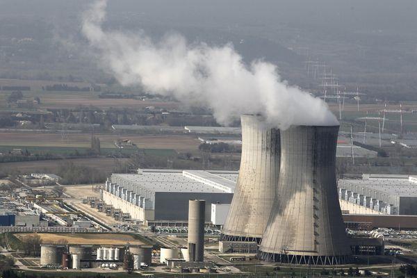 Centrale nucléaire du Tricastin en 2017
