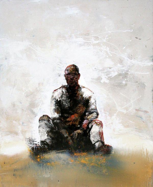Une toile de Christophe Hohler