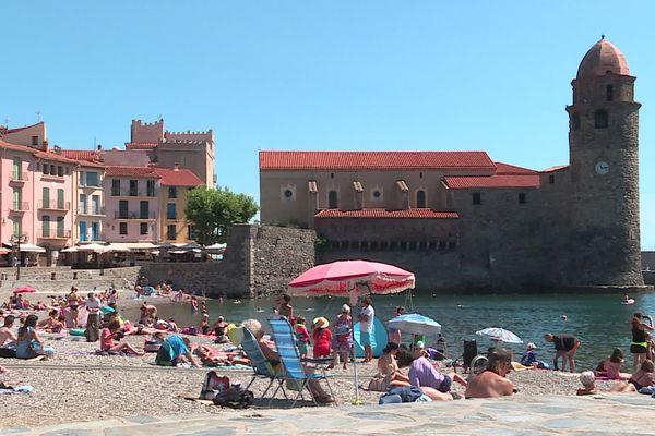 Depuis ce vendredi matin, le port du masque est à nouveau obligatoire à Collioure - 9 juillet 2021