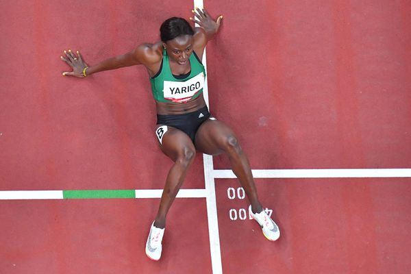 La Béninoise Noélie Yarigo n'est pas parvenue à se qualifier pour la finale du 800 mètres