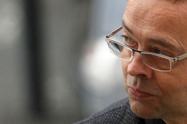 Nicolas Bonnemaison lors de son procès en appel à Angers, octobre 2015