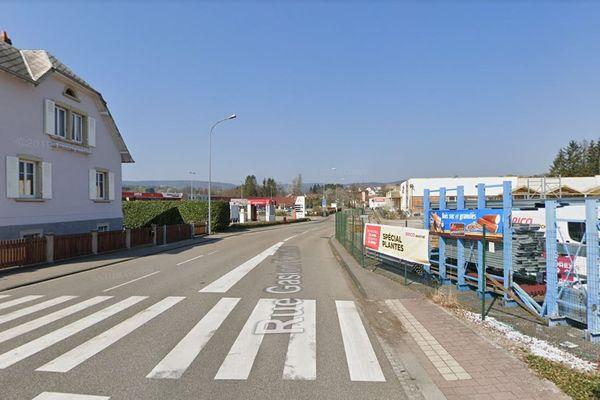 Une fuite de gaz s'est déclarée rue Gaston Fleischel mercredi 8 septembre à Reichshoffen.