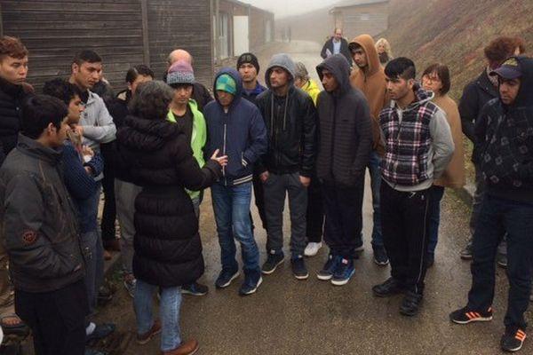 Les grèvistes de la faim lundi matin au CAO de Réalville