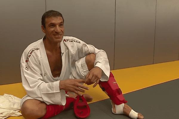 Christophe Pinna a choisi Samouraï 2000 pour tenter de participer aux Jeux Olympiques.