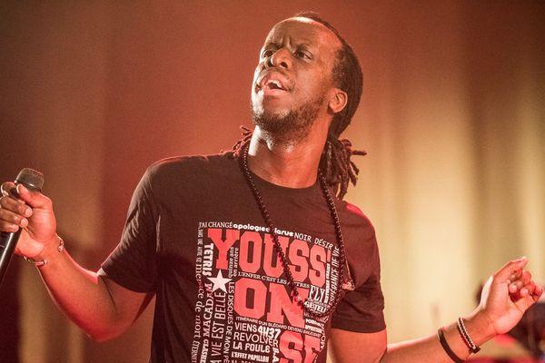 Youssoupha était déjà venu en Franche-Comté, lors du festival Rolling Saône (Halle Sauzay) en 2016.