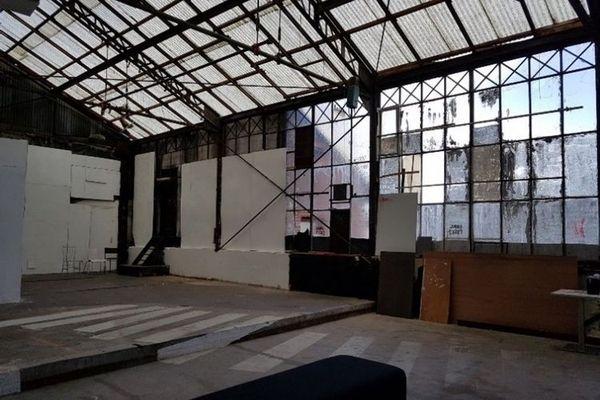 La grande halle du Studio Pathé-Albatros à Montreuil (93) un des 8 sites selectionnés.