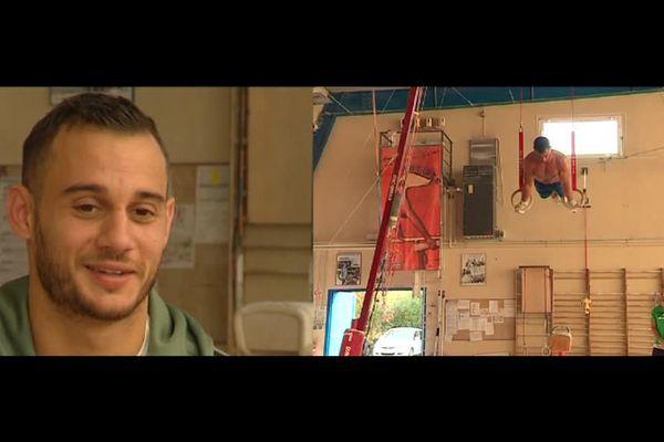 Le gymnaste antibois Samir Aït Saïd