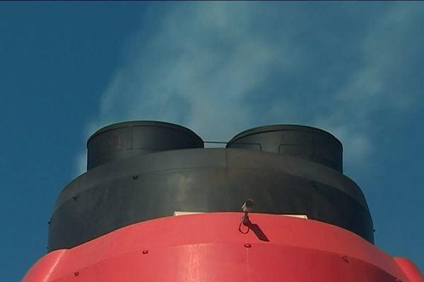 Des paquebots et cargos à voile pour limiter les émissions de CO²...