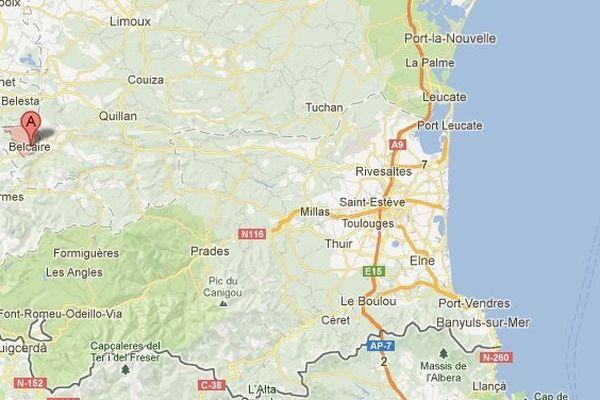 Belcaire dans l'Aude