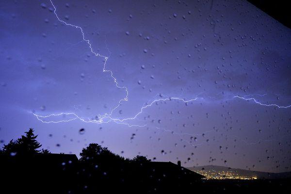 Un épisode orageux est attendu dans la soirée de jeudi en Haute-Savoie. Photo d'illustration.