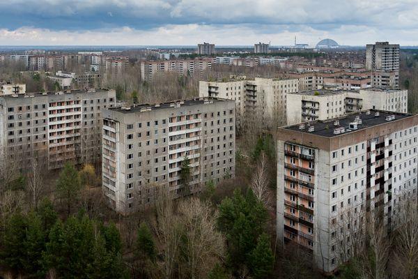 Pripiat, cité fantome depuis la catastrophe de Tchernobyl.
