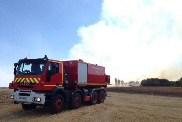30 hectares de forêt ont brûlé à Hauteville, près de Dijon.