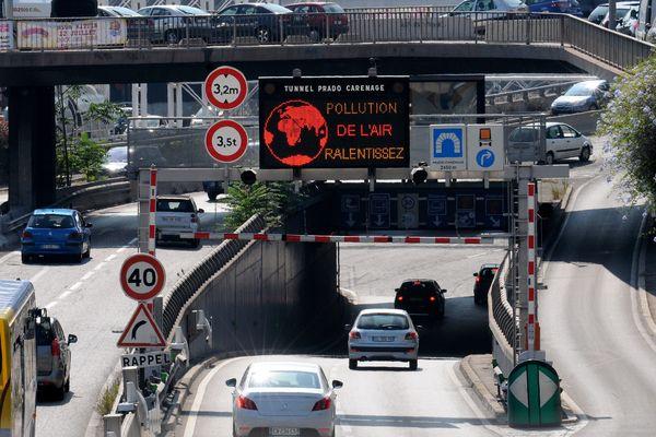La procédure d'information-recommandation a été déclenchée aujourd'hui dans les Bouches-du-Rhône, le Var et le Vaucluse