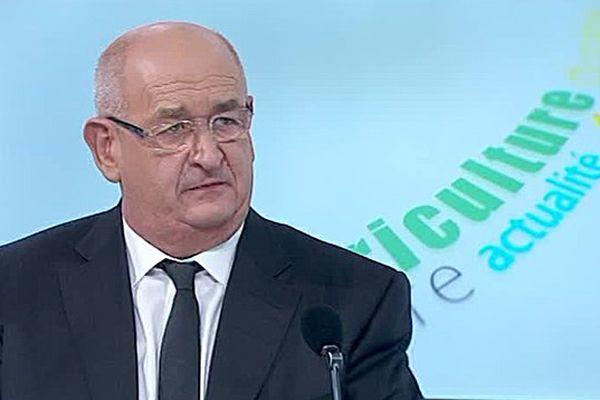 Le sénateur-maire PS de Mende Alain Bertrand - 2016