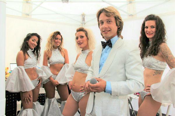 L'artiste Yannick Bonnes et ses Clodettes en représentation unique le jeudi 29 octobre au Paradis des Sources.