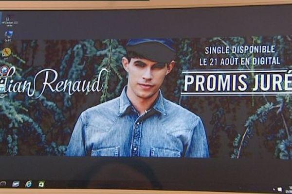 """""""Promis juré """" c'est le premier single de Lilian Renaud"""