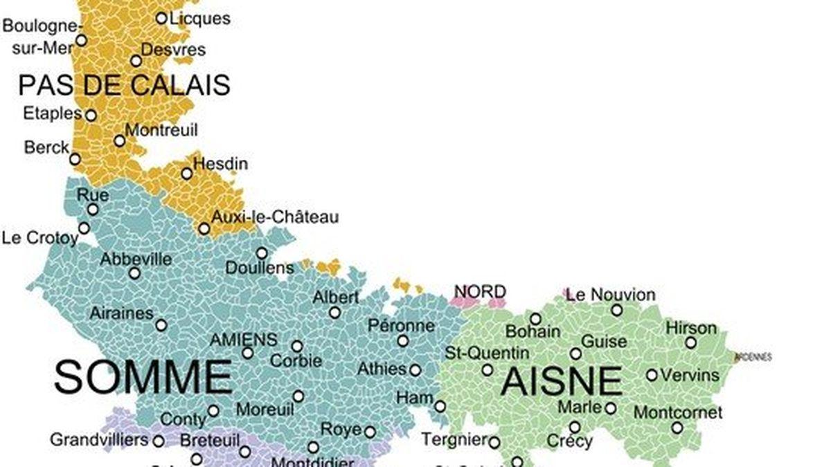 Reduction Du Nombre De Regions La Somme Et L Aisne Picardie Vont Elles Rejoindre Le Nord Pas De Calais