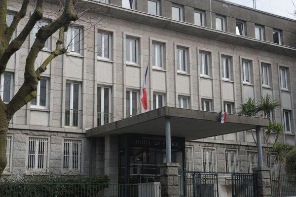 Le commissariat de Brest