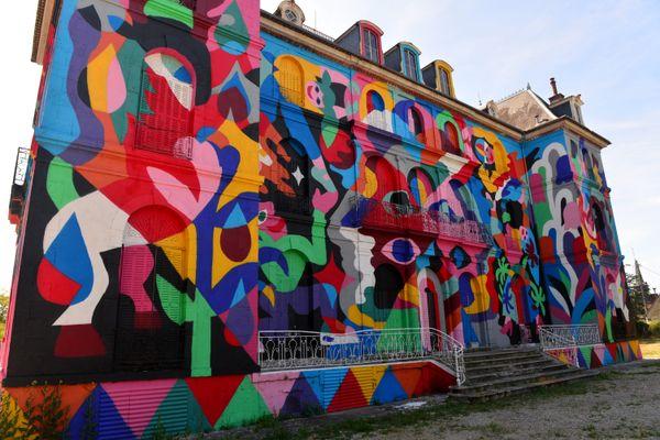 Tous les ans, le château de la Valette célèbre le street art, comme ici en 2019. Photo d'illustration
