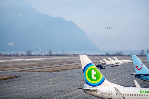 Les pistes de l'aéroport Chambéry Savoie Mont-Blanc