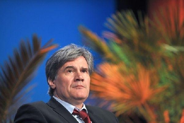 Stéphane Le Foll, ministre de l'Agriculture le 21 mars 2013 à Nantes