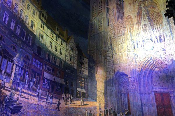 """""""La Cathédrale de Monet, l'espoir de la modernité"""", le dernier Panorama de Y. Asisi"""