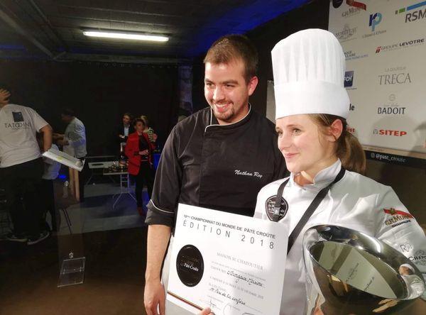 Margaux Moisiere, récompensée le 3 décembre au championnat du monde de pâté en croûte.