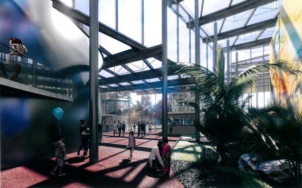 Vue virtuelle parc Imagiland - La Couronne (Charente)