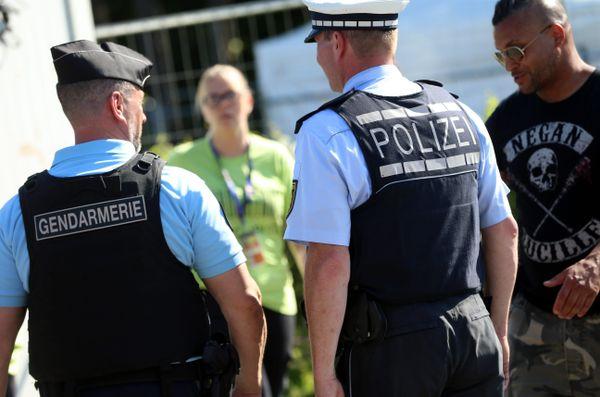 Autorités françaises, gendarmerie mais aussi police allemande étaient présents sur les 31e Eurockéennes.