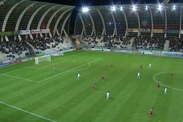 Au stade de la Licorne, devant 6600 spectateurs, les amiénois ont fait match nul (0-0) contre Boulogne.