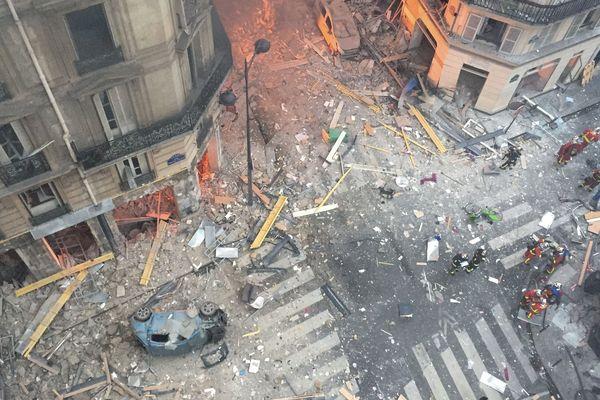 L'explosion d'une boulangerie, rue de Trévise, a ravagé le quartier.
