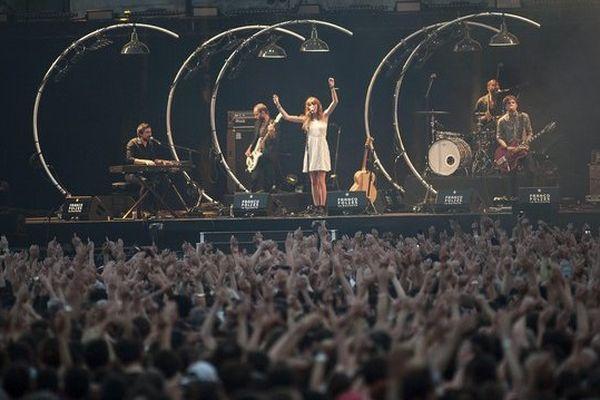 Francofolies 2013 - Lou Doillon sur scène