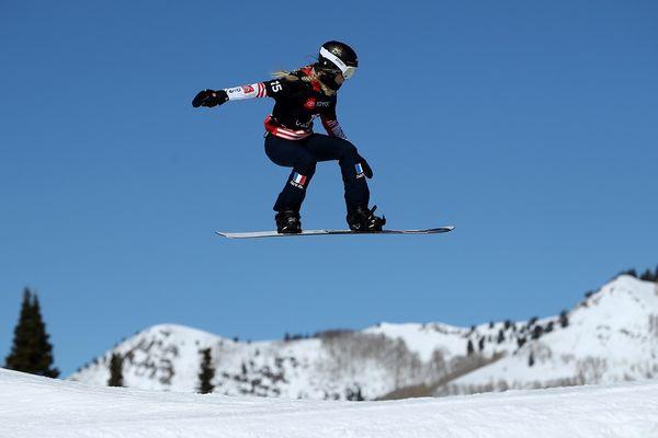 Julia Pereira de Sousa Mabileau aux championnats du monde de snowboard (2019)