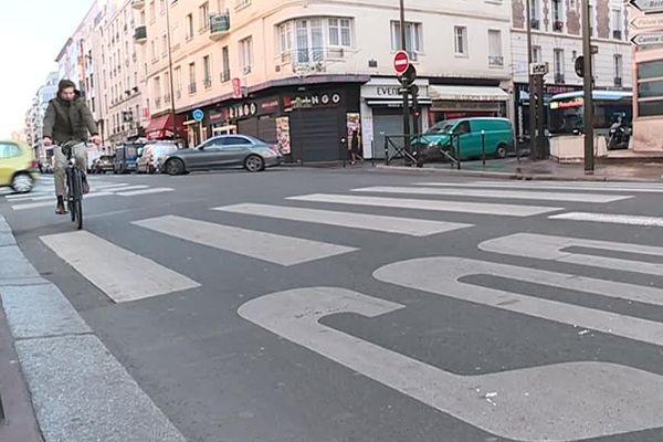 Un homme âgé de 81 ans a été renversé par une trottinette électrique au niveau de ce passage piéton, à Levallois-Perret.
