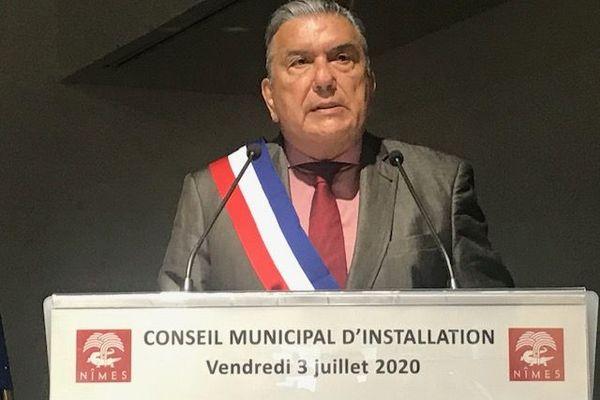 Seul candidat, Jean-Paul Fournier a été officiellement réélu maire de Nîmes.