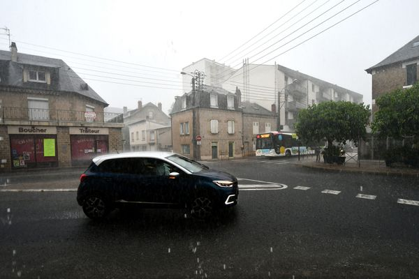 D'importants cumuls de pluie, de fortes rafales de vent et même des chutes de grêle sont à craindre sur le Tarn et l'Aveyron ce dimanche 20 juin après-midi (photo d'illustration).