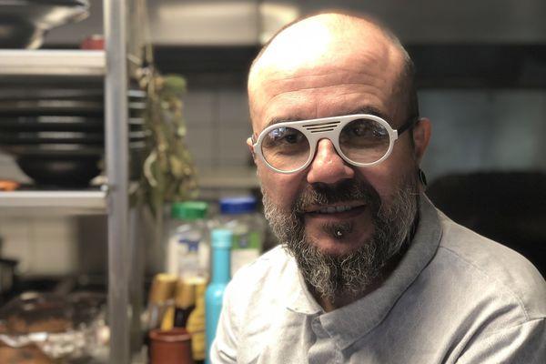 Pascal Guisset, le chef de La Java Bleue à Amanlis