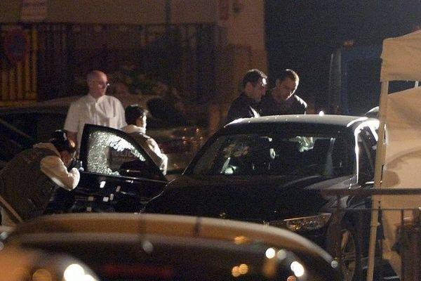 Les policiers sont sur les lieux du règlement de compte Travers de Bon Secours dans le 14e arrondissement de Marseille.