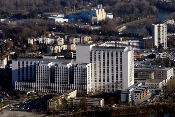 Le CHU Grenoble-Alpes. Photo d'illustration.
